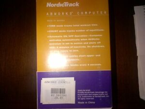 New NordicTrack Abworks Computer $15 London Ontario image 7