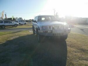 1999 Nissan Patrol GU ST (4x4) White 4 Speed Automatic 4x4 Wagon