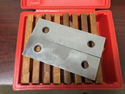 14 Parallel Set - 9 Pair  Precision Ground And Hardened