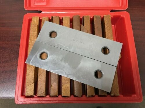 """1/4 """" Parallel Set - 9 Pair  ( Precision Ground and Hardened )"""