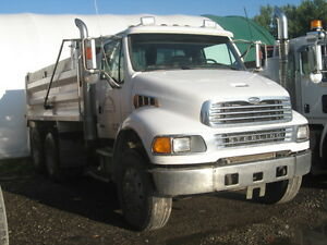 2007 Sterling Automatic Acterra Tandum Dump Truck