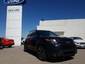 2014 Ford Explorer SPORT, 2ND ROW BENCH, LEATHER, CARGO MAT