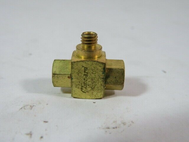 Clippard MSV-1 Shuttle Valve 10-32 Male Outlet 10-32 Female Inlet  USED