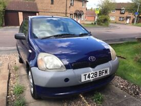 Toyota Yaris 1999 manual