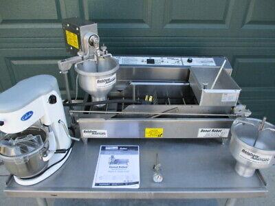 Donut Machine Fryer Belshaw Mark Ii Donut Robot Mixer 6300 Nice Aug. 2018