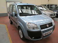 60 FIAT DOBLO 1.4 DYNAMIC WHEELCHAIR ADAPTED 50 + ADAPTED VEHICLES IN STOCK