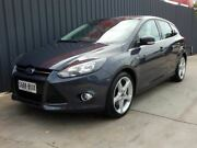 2011 Ford Focus LW Titanium PwrShift Grey 6 Speed Sports Automatic Dual Clutch Hatchback Blair Athol Port Adelaide Area Preview