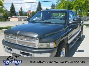 2002 Dodge Ram 2500 Cummins 2 year warranty! Kelowna 1 owner!