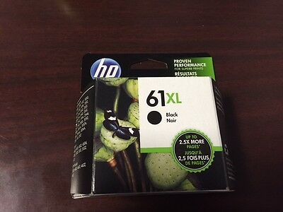 HP 61XL Black Ink Exp Sep 2019