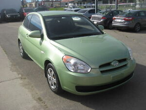 2009 Hyundai Accent GL Coupe (2 door)