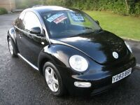 2001 VOLKSWAGEN BEETLE 1.6 HATCHBACK 3 DR Petrol Manual Very low mileage FSH