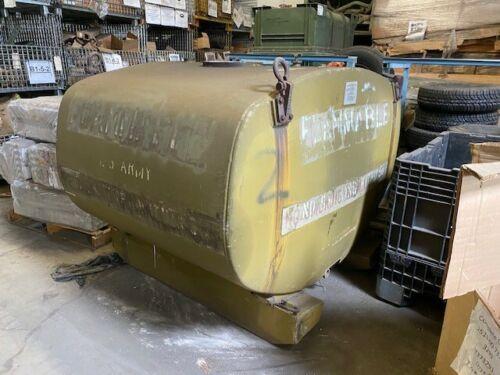 Military Surplus 600 Gallon Aluminum Skid Mounted Fuel Pod NSN 4930-00-752-9983