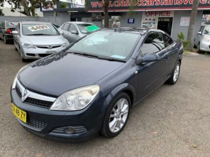 2007 Holden Astra AH Twin TOP Grey 4 Speed Automatic Convertible Cabramatta Fairfield Area Preview