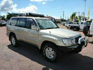 1999 Lexus LX470 UZJ100R (4x4) Gold 4 Speed Automatic Wagon Townsville Townsville City Preview