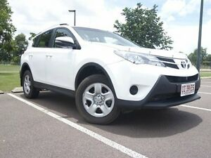 2014 Toyota RAV4 ASA44R MY14 GX AWD Glacier White 6 Speed Automatic Wagon The Gardens Darwin City Preview
