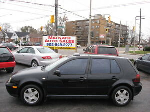 **2000 Volkswagon Golf T.D.I.**  Certified & E-tested