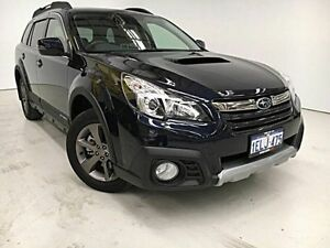 2014 Subaru Outback B5A MY14 2.0D Lineartronic AWD Premium Blue 7 Speed Constant Variable Wagon Edgewater Joondalup Area Preview