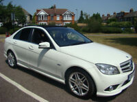 Mercedes-Benz C Class 2.1 C250 CDI BlueEFFICIENCY Sport AMG, Lots of Extra's, Flip Screen, Leathers