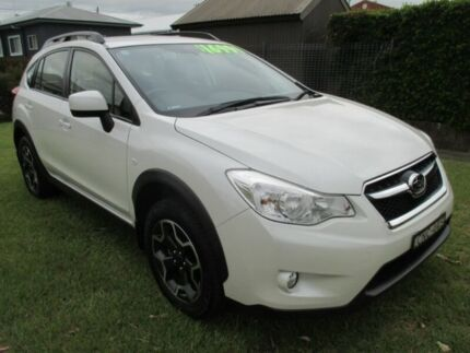 2013 Subaru XV G4X MY13 2.0i Lineartronic AWD Satin White 6 Speed Constant Variable Wagon Macksville Nambucca Area Preview