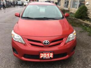 2012 Toyota Corolla CE special price $8999