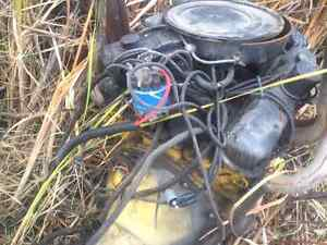 Motor and tranny for sale