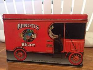Arnott's Truck Biscuit Tin Fingal Bay Port Stephens Area Preview