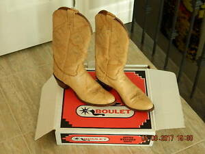 Womens Boulet Cowboy Boots Size 11.5 in box