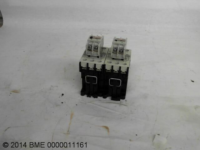 2 Fuji Sc-E02 With Sz-A11/T Motor Contactors With Auxilary Contact Block