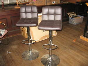 Bar stools with back rests
