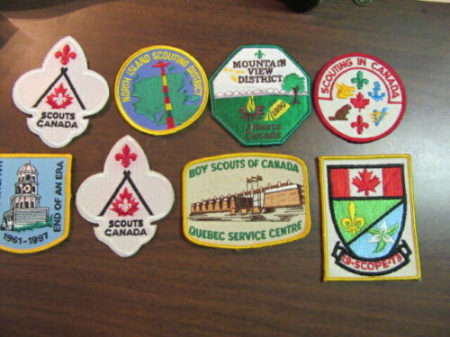 Canada Lot of 16 Different Patches    eb03  #9