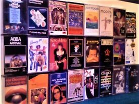 ANOTHER 25 TAPES FOR £10, 1970s 80s 90s JOB LOT OR PICK & MIX BIG NAMES PRERECORDED CASSETTE TAPES.