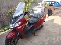 suzuki burgman scooter rev and go