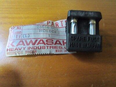 NOS KAWASAKI Z1 900 FUSE HOLDER 20 AMP FUSE