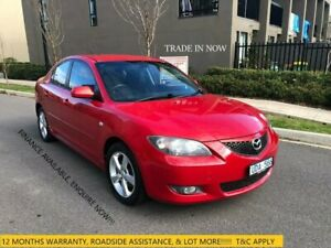 2006 Mazda 3 BK10F2 Maxx Sport Red 4 Speed Sports Automatic Hatchback Maidstone Maribyrnong Area Preview
