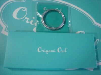 Origami Owl Exclusive Aqua Locket Leather Band & Signature Watch Face