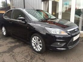 FORD FOCUS 1.6 ZETEC S S/S 3d 113 BHP (black) 2010