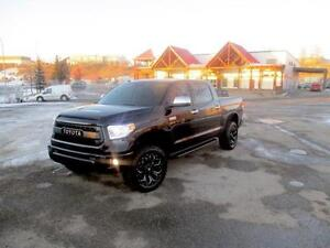 2016 Toyota Tundra Platinum Tire KIngs Show Truck Navigation