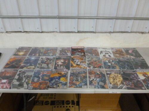 55 DW Transformers Comic Books