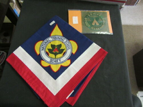 Schiff Scout Reservation New Jersey National Training School & Square Patch NCA