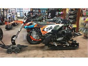 2016 KTM 450 SX-F WITH 2016 TIMBERSLED KIT