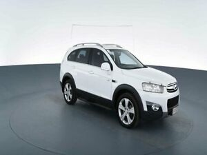 2011 Holden Captiva CG Series II 7 LX (4x4) White 6 Speed Automatic Wagon Virginia Brisbane North East Preview