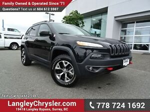 2016 Jeep Cherokee Trailhawk ACCIDENT FREE w/ 4X4, OFF-ROAD G...
