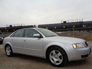 2004 AUDI A4 1.8 TURBO-LEATHER-SUNROOF-SUPPER-CLEAN--ONLY 145K