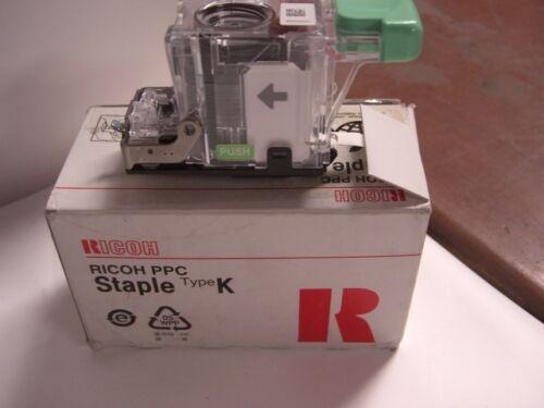 RICOH STAPLES,  #410801,  RICOH PPC,  Type K,     UPC 4961311874444