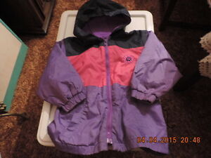 Girl's Size 4T Spring/Fall Jackets