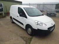Peugeot Partner L1 850 S 1.6 HDI 92 BHP VAN DIESEL MANUAL WHITE (2012)
