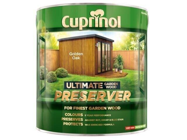 Shed Fence Paint 4l Cuprinol Ultimate Garden Wood Preserver Golden Oak In Winchester Hampshire Gumtree