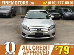 2012 FORD FUSION SE * POWER ROOF * LOW KM * CAR LOANS FOR ALL London Ontario image 4