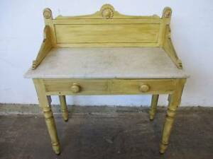 C3046 Vintg French Provincial Style Marble Wash Stand Hall Table Mount Barker Mount Barker Area Preview