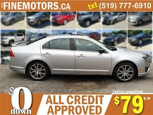 2012 FORD FUSION SE * POWER ROOF * LOW KM * CAR LOANS FOR ALL London Ontario image 3